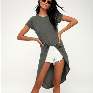 LuLus Surprise Party High-Low Tee Small
